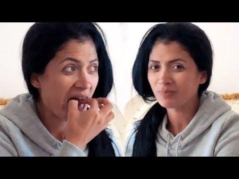 Edwin Luna Reta A Su Novia Kimberly Flores A Comer Caramelos Picantes