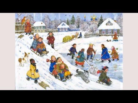 Вставай дружок, отряхивай снежок. Детская песня.