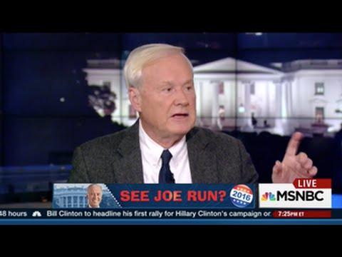 Chris Matthews Unloads on Hillary Allies