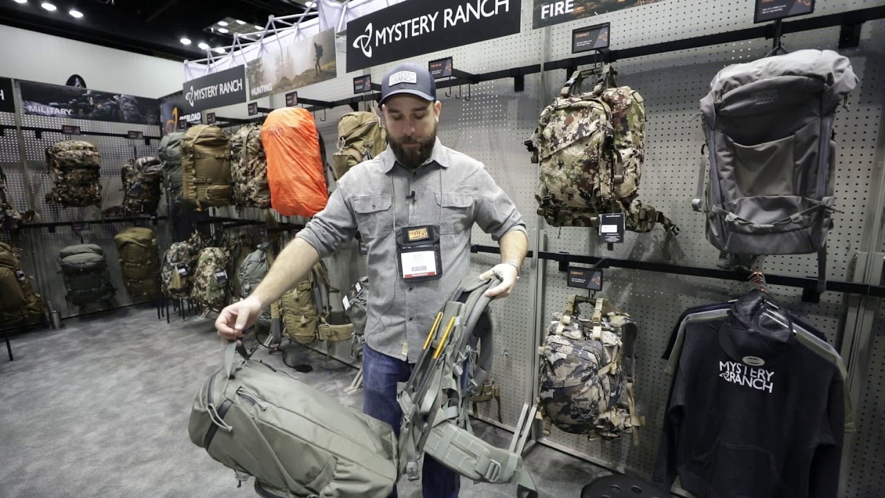96bda1e9c Mystery Ranch Pop-up 28 Pack Review - 2018 ATA Show