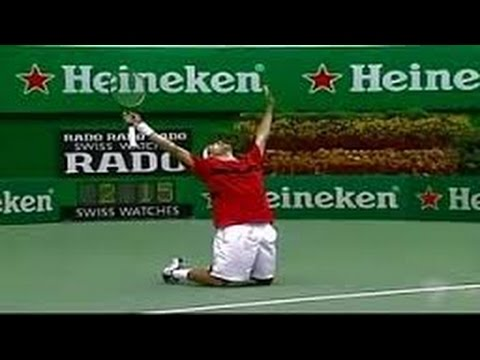 All 88 Championship Roger Federer Points ..and counting HD