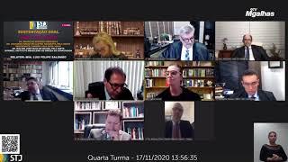 Ministros do STJ discutem durante julgamento de incidência da Selic nas dívidas civis