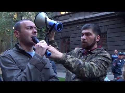 Սերժ Սարգսյանի դեմ ակցիայի մասնակիցները փողոց են փակել