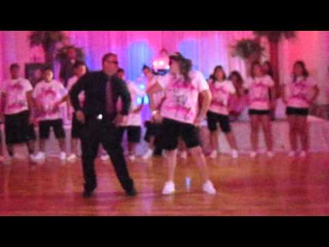 Sweet 15 Father daughter Hip Hop surprise dance 7/23/2011