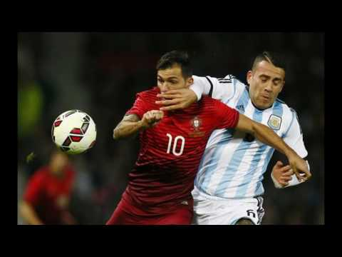 Argentina(0)-(2)Portugal Match Highlights 2016 | Port