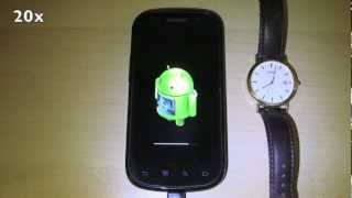 Google Nexus S OTA (Over-The-Air) update to Android 4.1.2 Jelly Bean