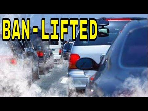 Ban On Delhi Diesel Vehicles - LIFTED