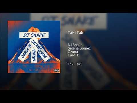 DJ Snake - Taki Taki ft. Selena Gomez, Ozuna & Cardi B (Audio)