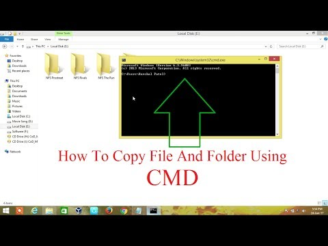 How To Copy File And Folder Using Cmd In Windows 7, 8, And 8.1