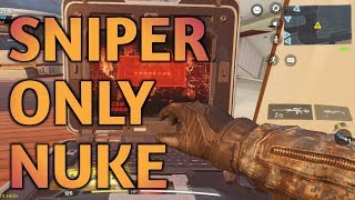 GOD SNIPER on call of duty (sniper nuke)