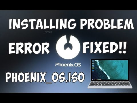 Repeat Phoenix OS ROC - Installation on EXT4 disk (Feel Real