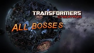 Transformers War for Cybertron All Bosses PS3