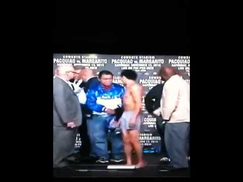 Bai Elorde Vs. Angel Rodriguez Weigh In