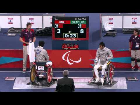 Wheelchair Fencing - CHN vs CHN - Men