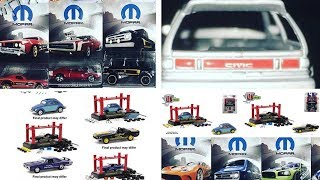 Hot Wheels Mopar Subset Sneak Peek plus a new 2019 Super Treasure Hunt ?