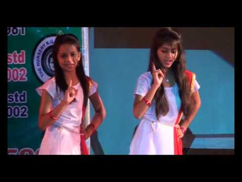Dance Performance on Betiya Song by Girls- Annual Program-2016 Joyous English School Surat
