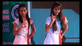 Dance Performance on Betiya Song by Girls- Annual Program-2016 Joyous English School Surat