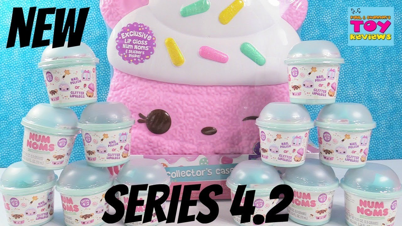 Num Noms Series 4 2 Collectors Case Exclusive Packs Toy Review Pstoyreviews Youtube