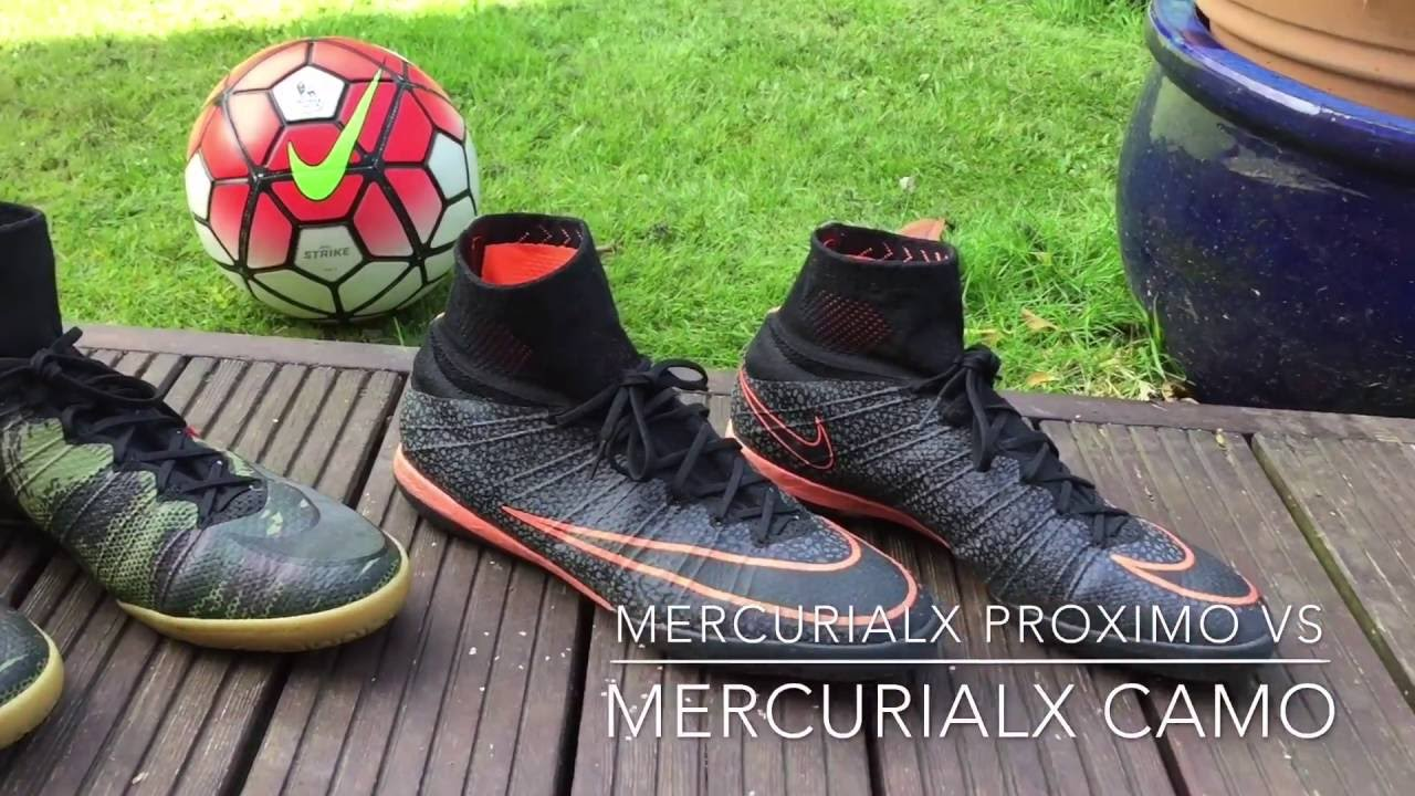 thoughts on big sale online here MercurialX Proximo Mango vs MercurialX Proximo Camo - YouTube