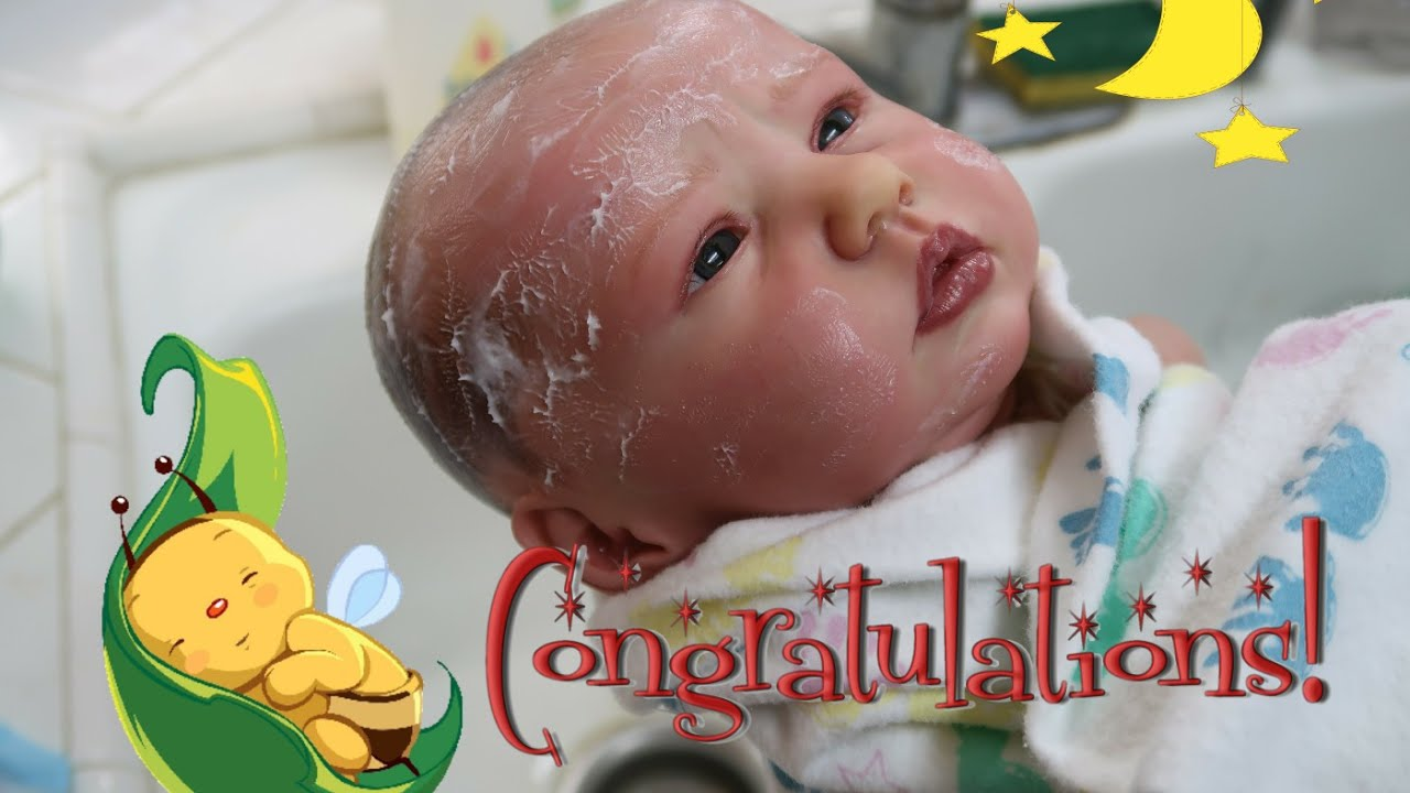 Newborn Baby Just Born My New Reborn Baby Doll Realistic Baby