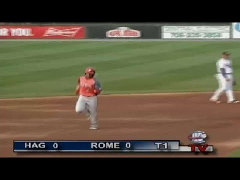 Juan Soto blasts a two-run homer for Hagerstown