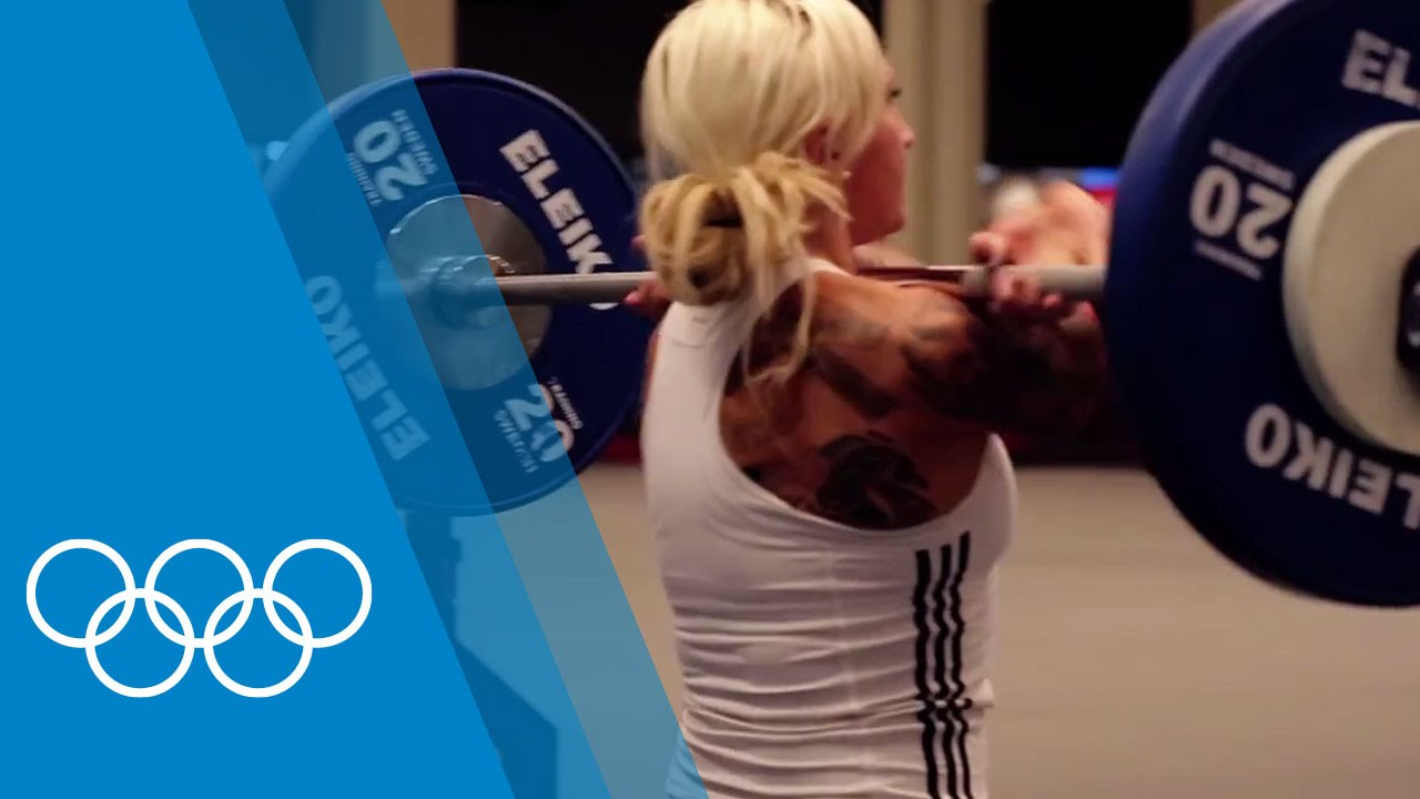 Bobsleigh training with Kaillie Humphries