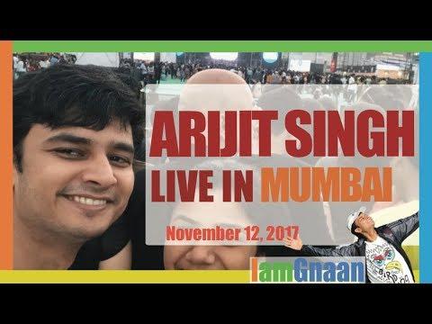 Arijit Singh Live Performance | Mumbai Concert 2017 | MMRDA, BKC | 20 Songs, 7 Minutes | 12 Nov. 17