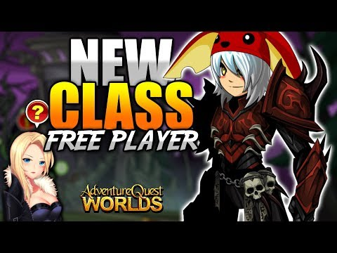 ShadowScythe General Class (Free Player) Farming AQW