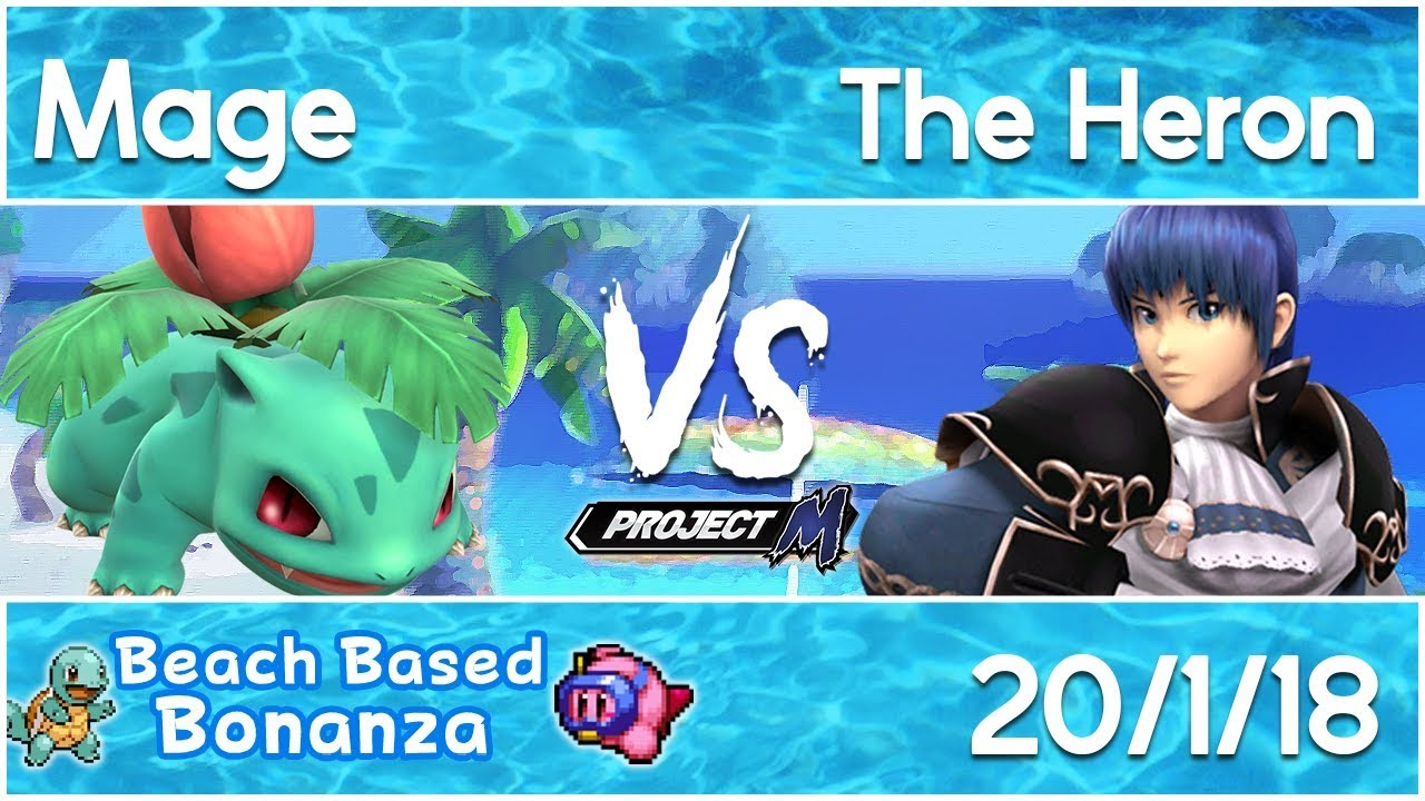 Beach Based Bonanza 11 Project M Mage Ivysaur Vs The Heron Marth