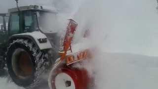 Frezanje snjega Kalnik- Belke