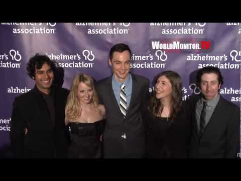 Cast of 'The Big Bang Theory' arrive at Alzheimer's 21st Annual 'A Night At Sardi's' Gala