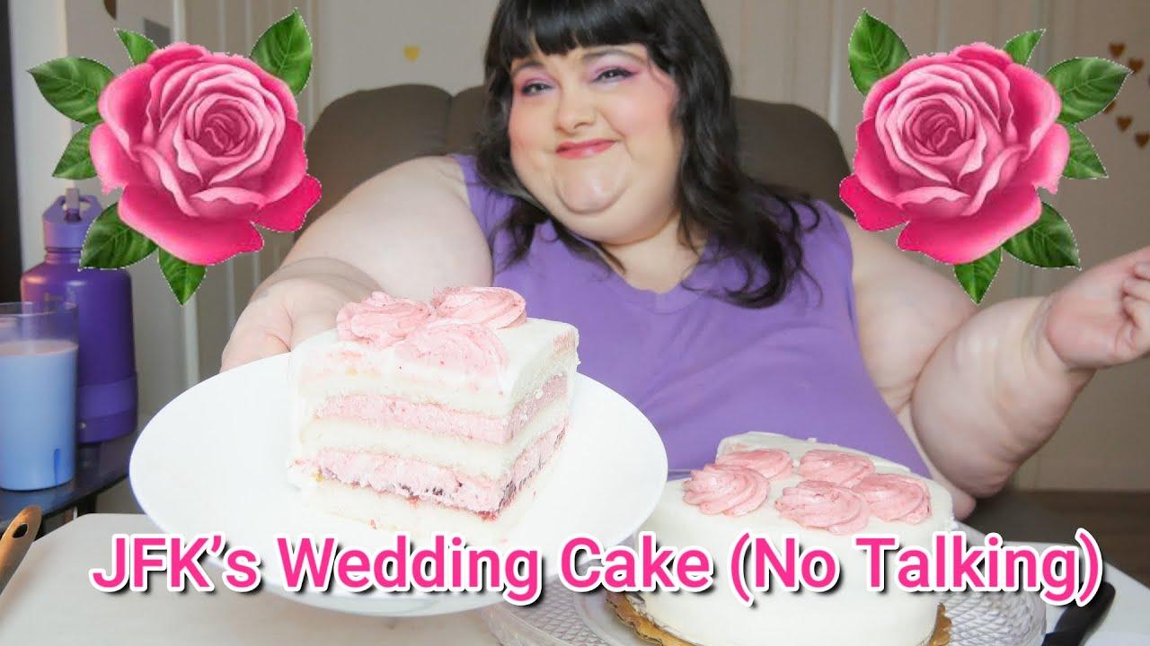 JFK's Wedding Cake No Talking Mukbang