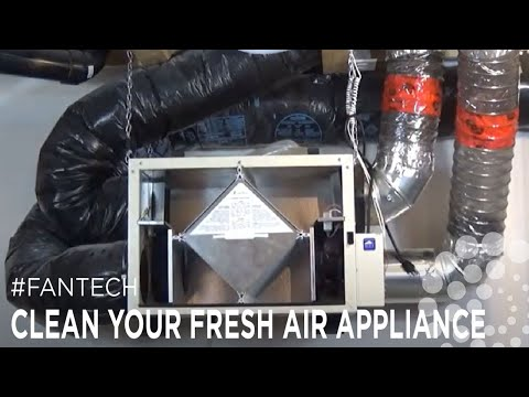 How to clean your HRV