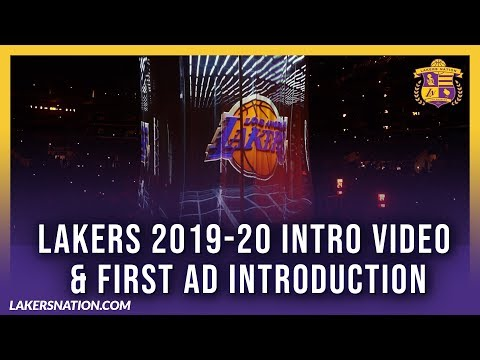 Lakers Nation: Lakers 2019-20 Intro Video & First AD Introduction