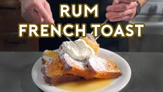 Binging with Babish: Rขm French Toast from Mad Men