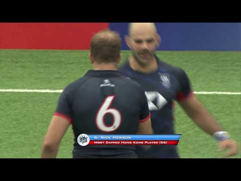 RWC Qualification 2019 Play-off Highlights - HKG Vs Cook Islands