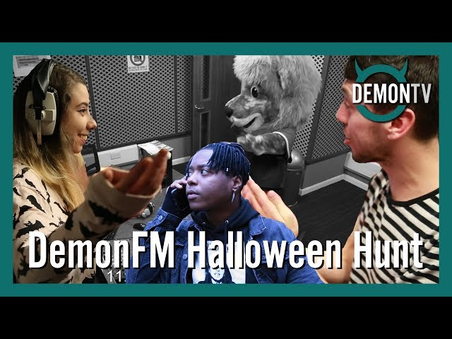 DemonFM Halloween Hunt | #WhereIsMonty