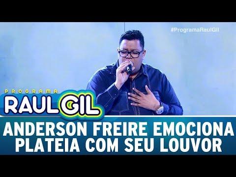 Anderson Freire Emociona Plateia Com Seu Louvor | Programa Raul Gil (25/11/17)