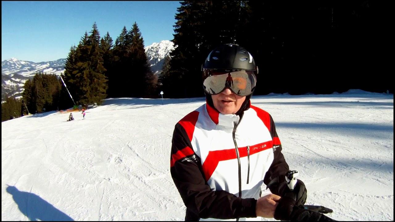Söllereck: High Speed mit Slalom-Ski auf Piste 6