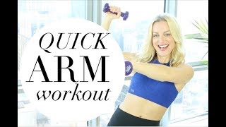 QUICK ARM WORKOUT | TRACY CAMPOLI | BEST ARM WORKOUT FOR WOMEN