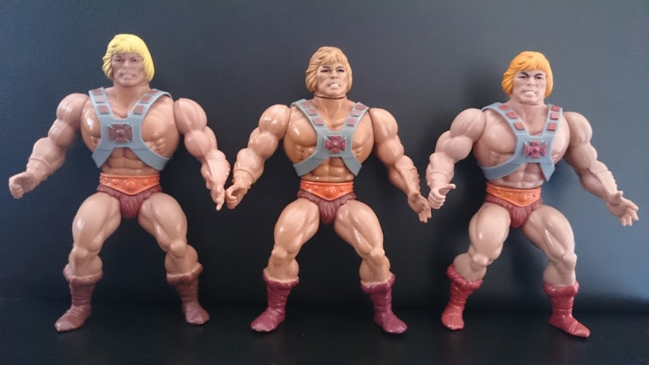 Masters of the Universe vintage variants: He man ...