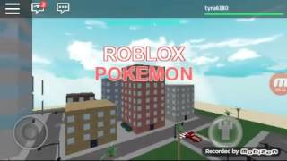 My Pokemon go Roblox adventure's trailer
