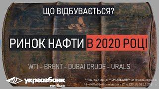 Что происходит с нефтью в 2020 году? ФОРЕКС АБ УКРГАЗБАНК