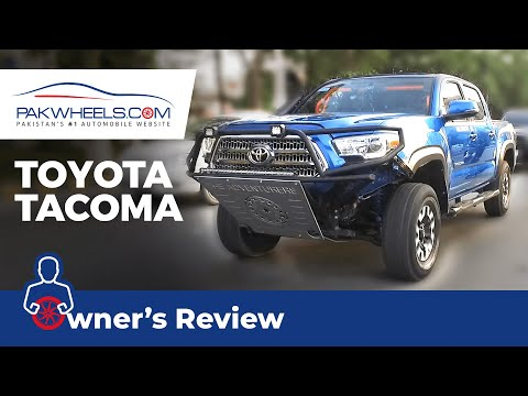 Toyota Tacoma 2016 Owner's Review: Price, Specs & Features   PakWheels