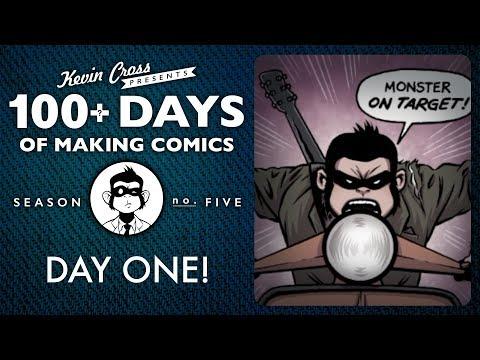100 DAYS OF MAKING COMICS - Day 1 - Season 5