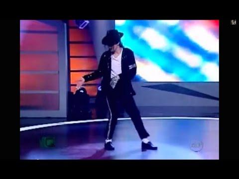 The Best ''Billie Jean'' in tribute to MJ on TV - by RICARDO WALKER ( The Walkers)