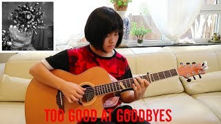 Too Good At Goodbyes - Sam Smith (fingerstyle guitar cover) Free Tabs