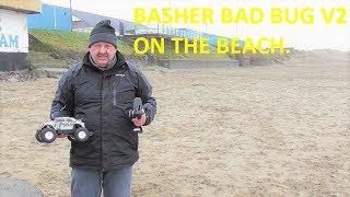 Hobbyking Basher Bad Bug V2 fun on the beach.