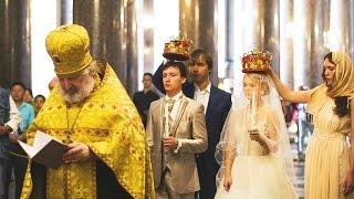 Наше венчание в Казанском Соборе. 7.08.2015