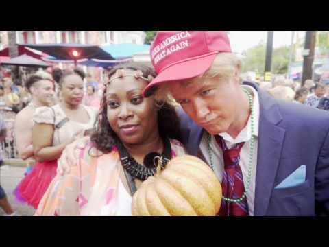 Donald Trumpkin at Fantasy Fest